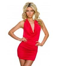 Zapeljiva  rdeča oblekica Xenia