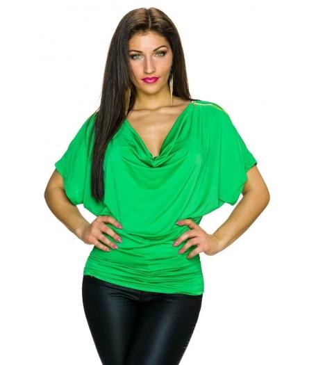 Majica zelena Ginny